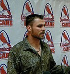 Rick Ankiel at the 2009 Winter Warmup