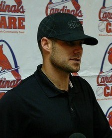 Skip Schumaker at the 2009 Winter Warmup